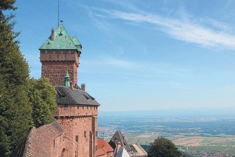 image France Orschwiller Chateau de Haut Koenigsbourg  fo