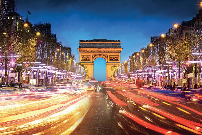 (Image) image France Paris Arc de triomfe Champs Elysees  fo