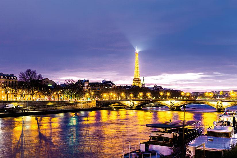 image France Paris nuit  fo