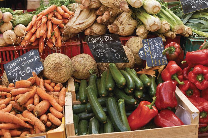 image France Provence Marche legumes  it