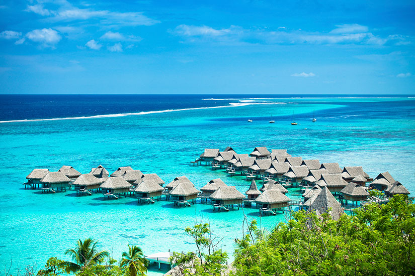 image France Tahiti Bora Bora villegiature luxe  it