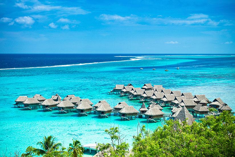 image France Tahiti Bora Bora villegiature luxe  it