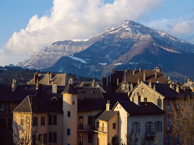 image France chambery vue aerienne