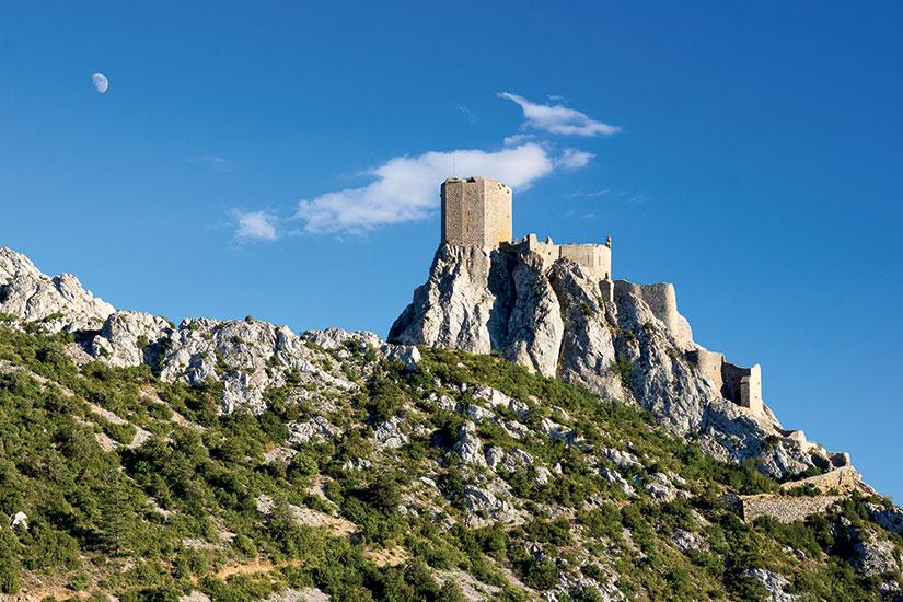 image France chateau de queribus  it