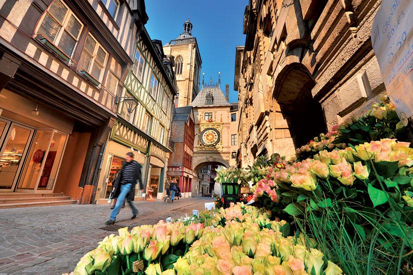 image France rouen rue