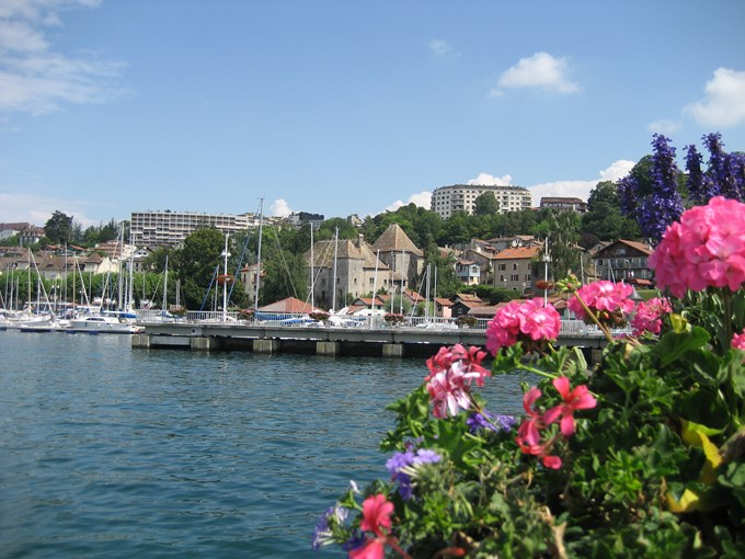 image France thonon les bains port