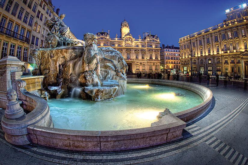 image France Lyon place de lhotel de ville  fo