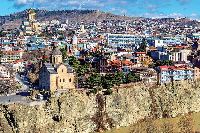 image Georgie Tbilisi Panorama  fo