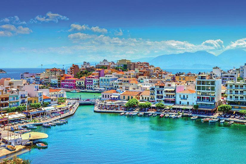 image Grece Crete Agios Nikolaos Panorama  it