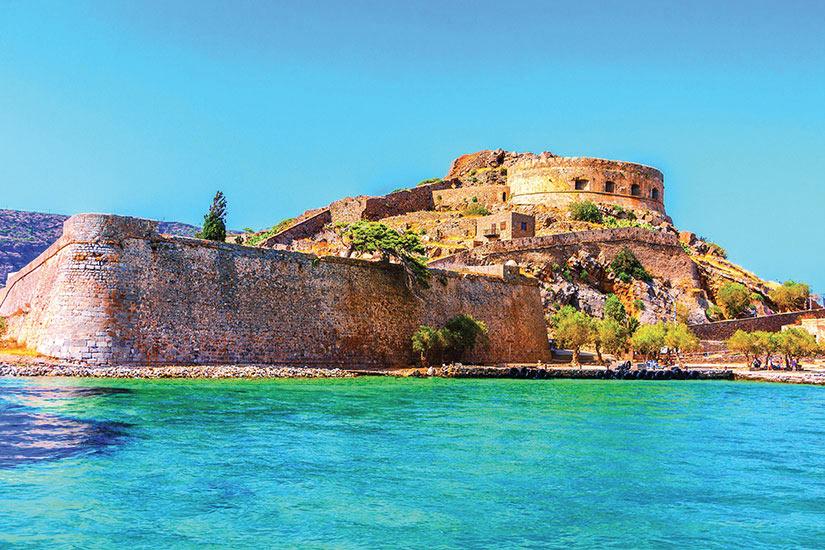 image Grece Crete Spinalonga forteresse  fo