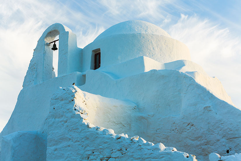 image Grece Mykonos eglise  it