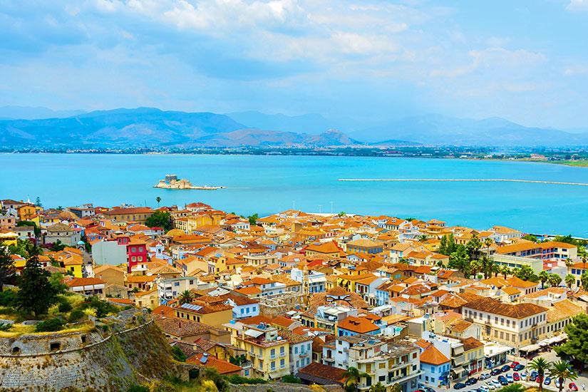 image Grece Nauplie panorama  it