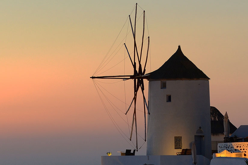 image Grece Santorin Moulin  it