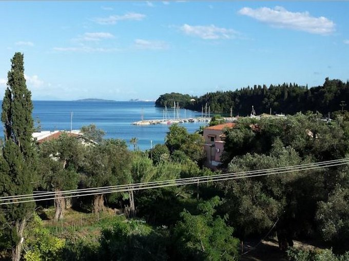 image Grece corfou hotel ipsos beach mer
