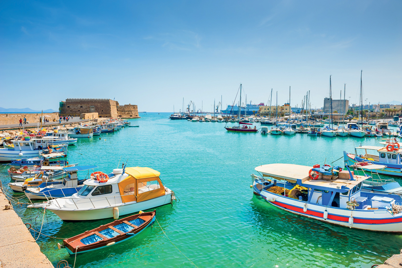 image Grece crete heraklion port bateaux 08 as_107304681