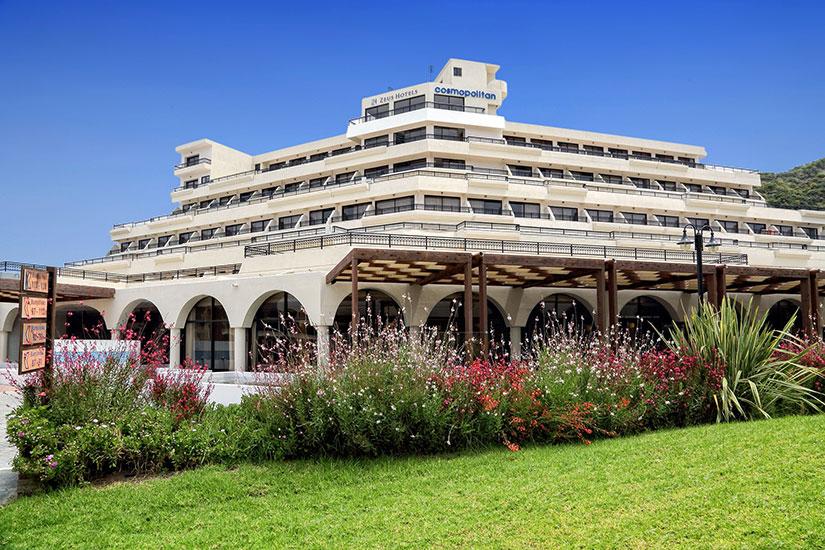 image Grece rhodes hotel smartline cosmopolitan facade