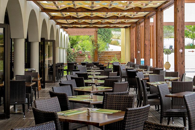 image Grece rhodes hotel smartline cosmopolitan terasse