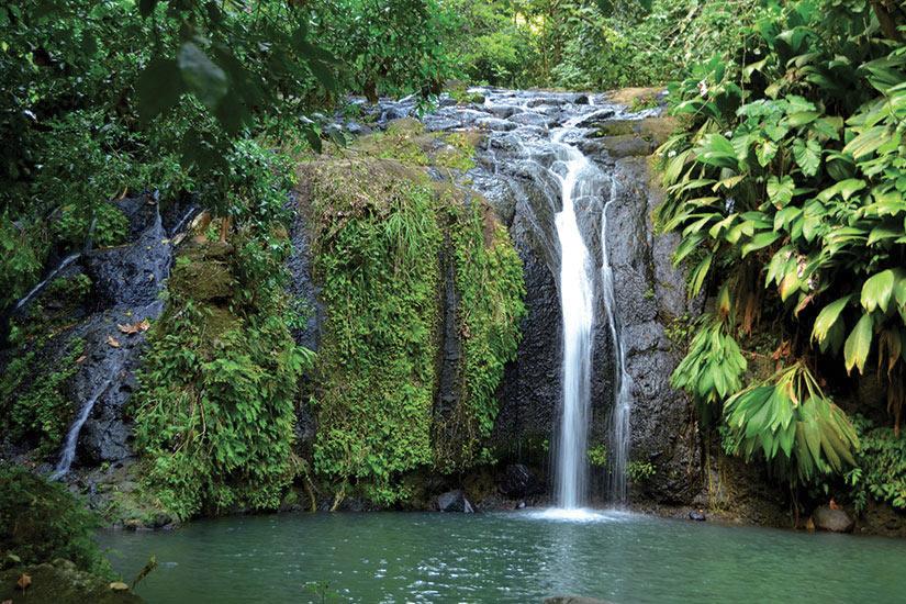 image Guadeloupe cascade  fo