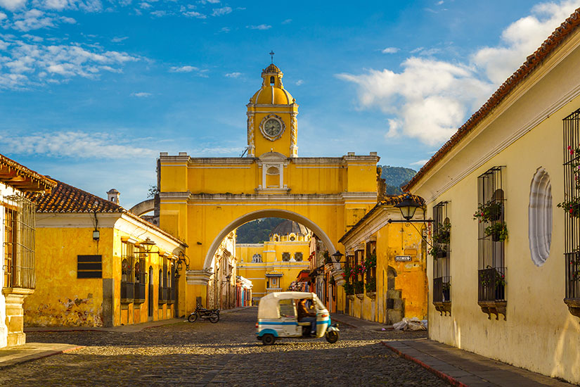 image Guatemala Antigua centre ville  it