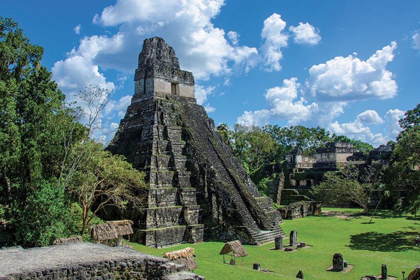 image Guatemala Tikal Mala ruines  fo