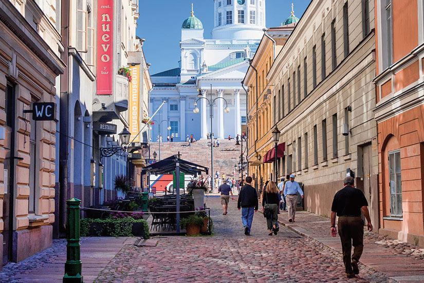 image Helsinki Sofiankatu et lutherienne cathedrale  it