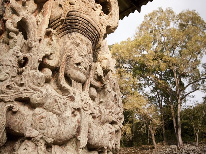 image Honduras copan sclupture maya