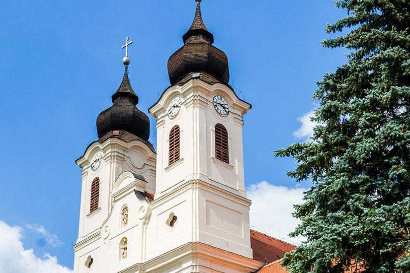 image Hongrie Tihany Abbaye benedictine  fo