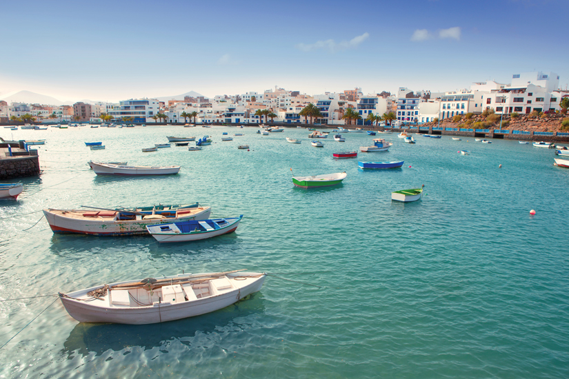 image Iles canaires lanzarote arrecife bateaux charco san gines 52 fo_44831003