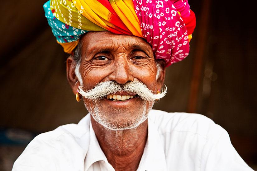 image Inde Homme senior Pushkar  it