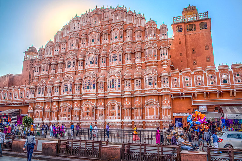 image Inde Jaipur Hawa Mahal  it