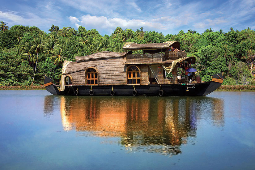 image Inde Kerala Peniches en backwaters  fo