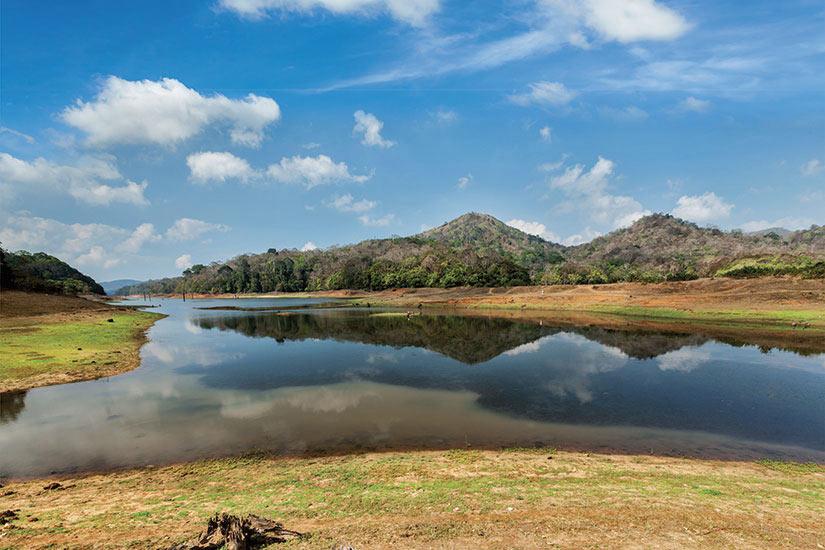 image Inde Periyar sanctuaire de la faune  fo