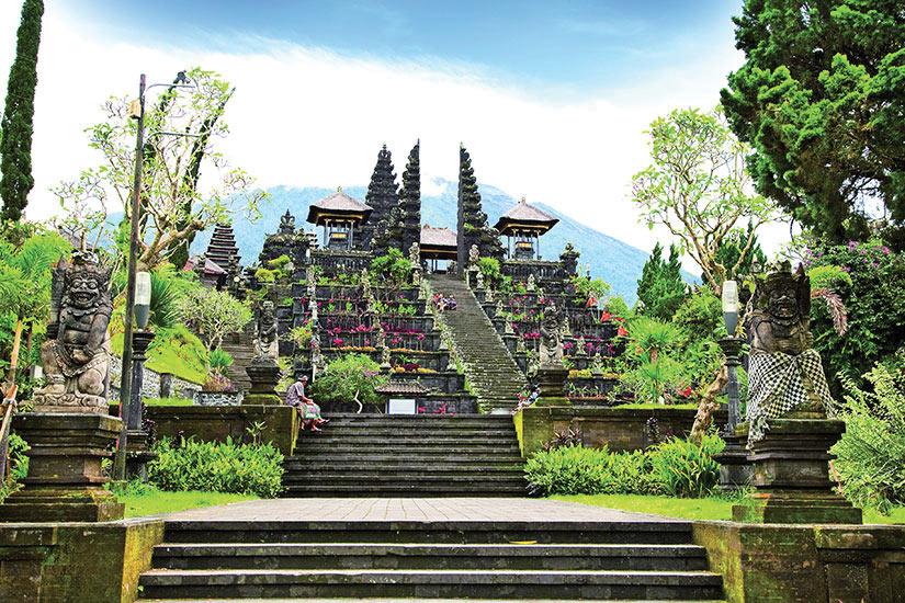image Indonesie Bali Agung Besakih  fo