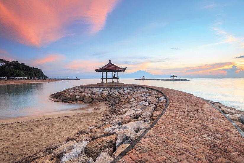 image Indonesie Bali Coral Beach Sanur Plage  fo