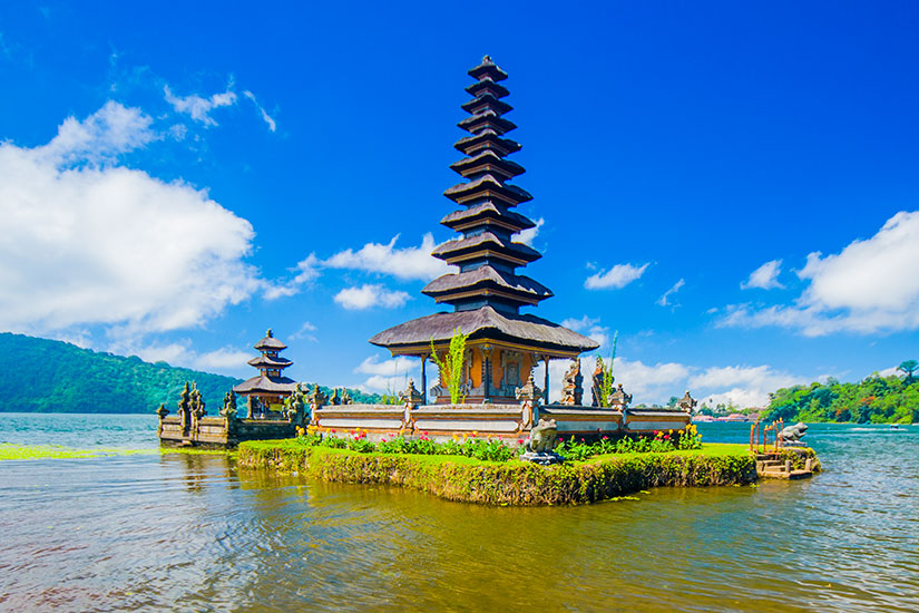 image Indonesie Bali Pura Ulun Danu temple  it