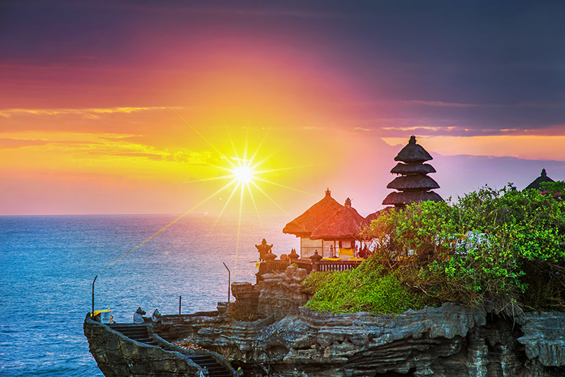 image Indonesie Bali Temple Tanah Lot  it