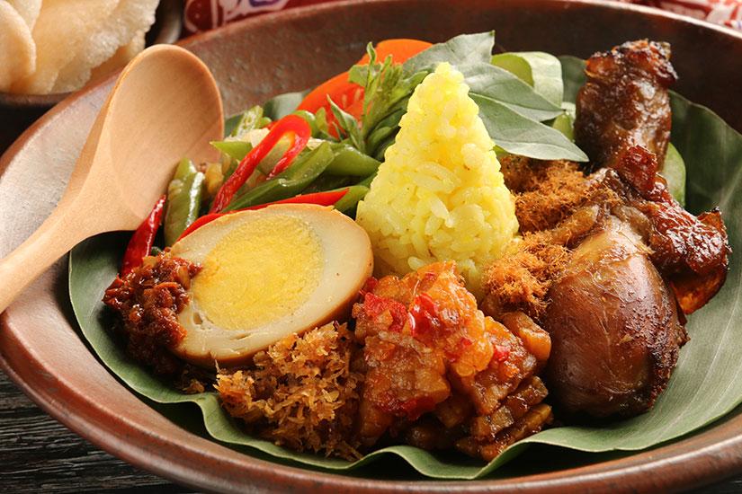 image Indonesie Javanais curcuma riz plats  it