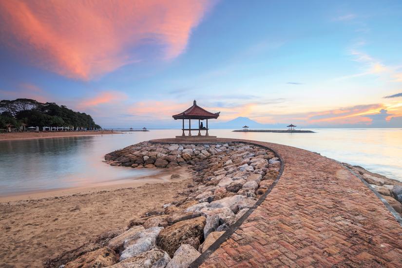 image Indonesie bali plage karang sanur dans matinee 82 fo_98128149