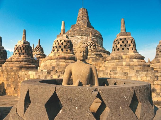 image Indonesie borobudur temple