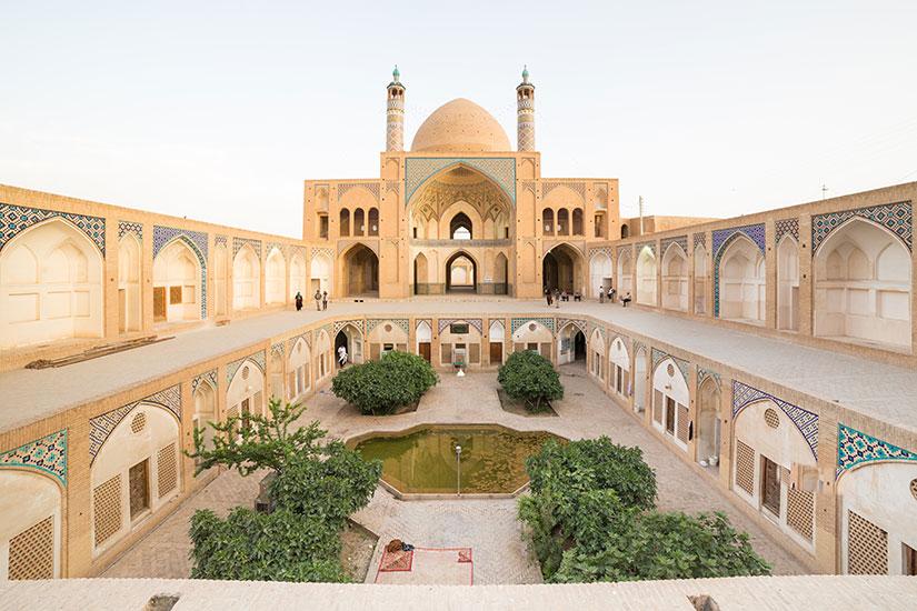 image Iran Kashan Agha Bozorg Mosquee  fo