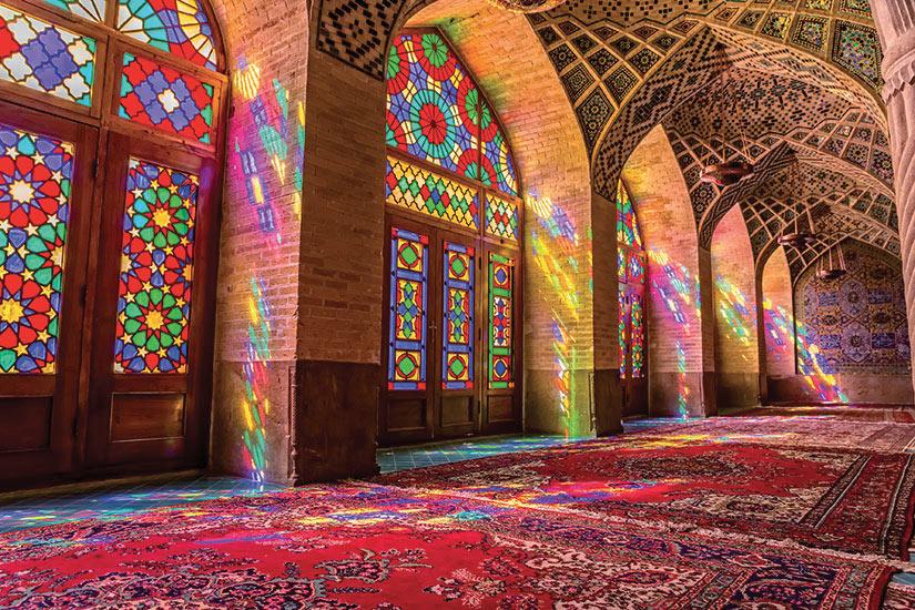 image Iran Nasir al Mulk mosquee  fo