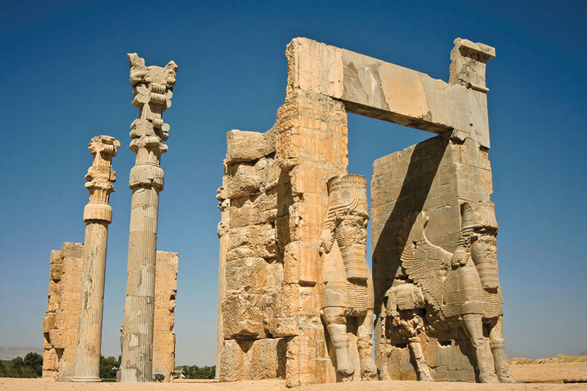 image Iran Persepolis Xerxes porte  fo