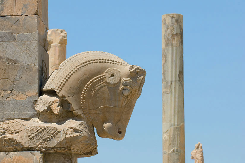 image Iran Persepolis les ruines de lancienne ville de Persepolis  it