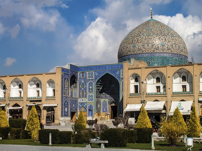 image Iran ispahan mosquee jame abbasi