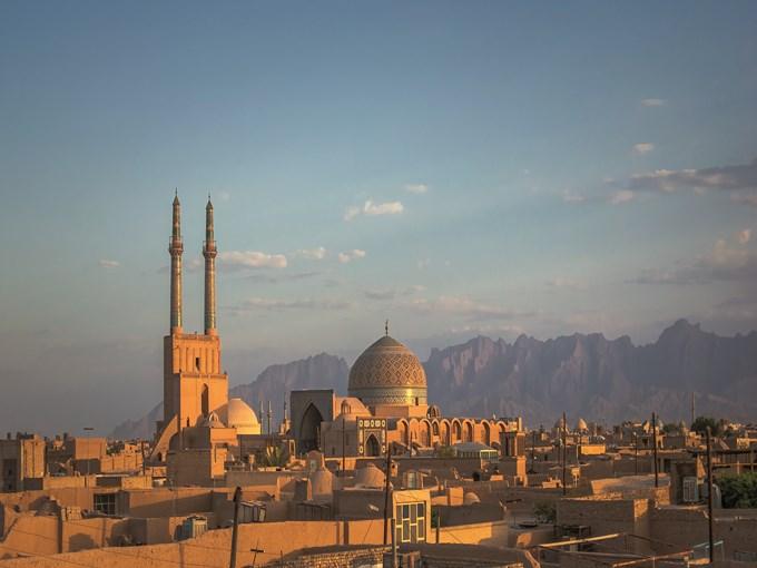 image Iran yazd vue ensemble