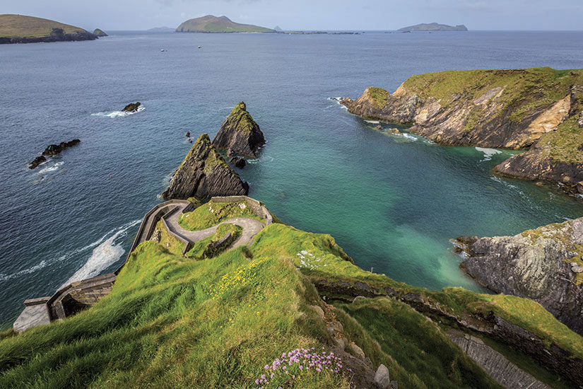 image Irlande Dingle Pier bei Dunquin  fo