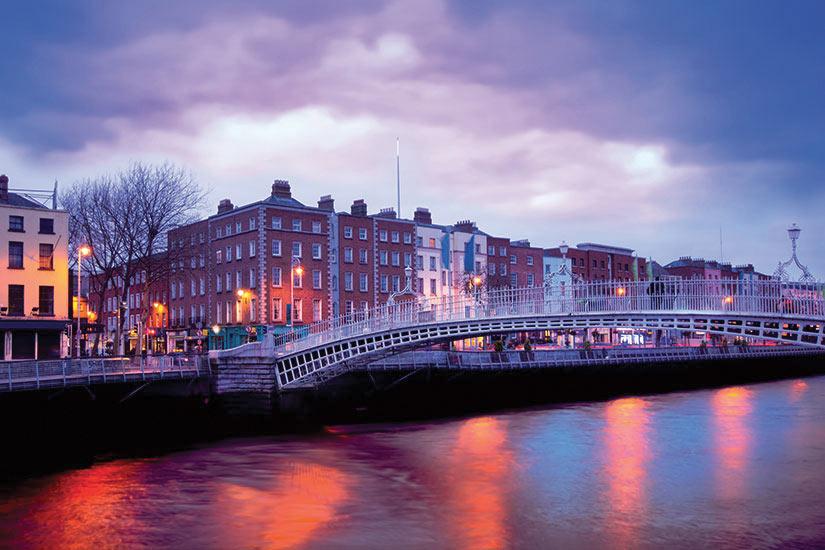 image Irlande Dublin Ha Penny Pont  it