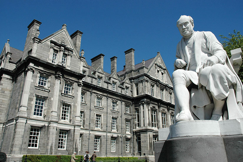 image Irlande Dublin Trinity College  fo