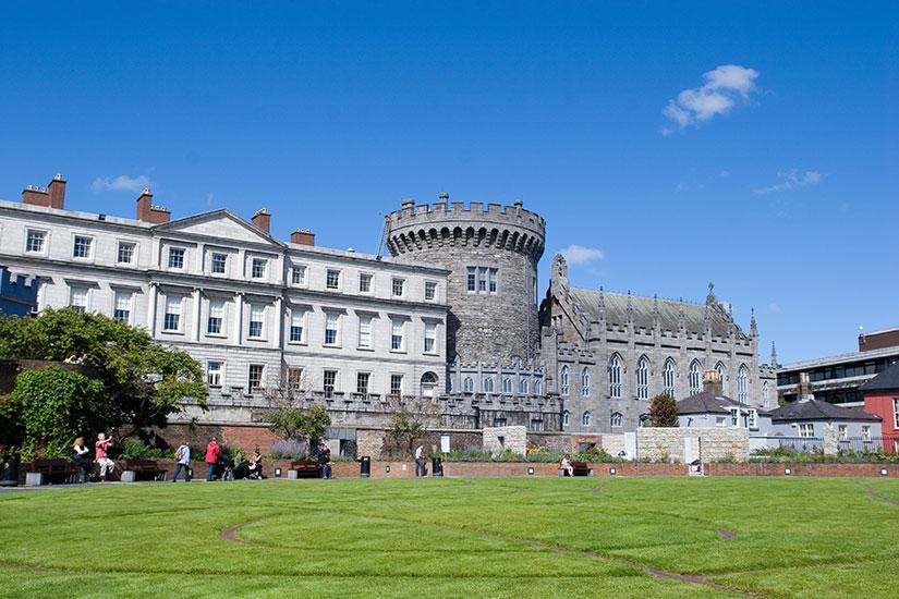 image Irlande Dublin chateau  fo
