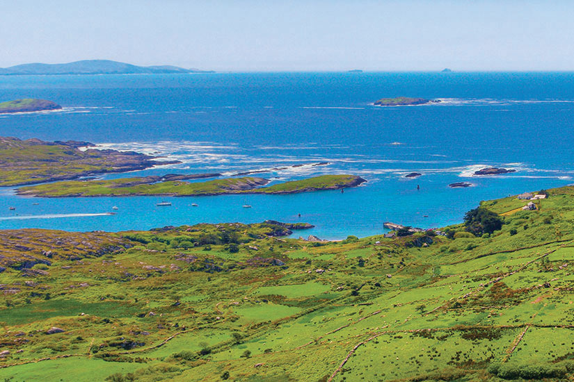 image Irlande Ring of Kerry Vue panoramique  fo